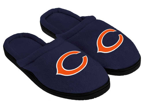Chicago Bears Cupped Sole Slippers