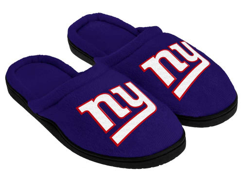 New York Giants Forever Collectibles Cupped Sole Slippers