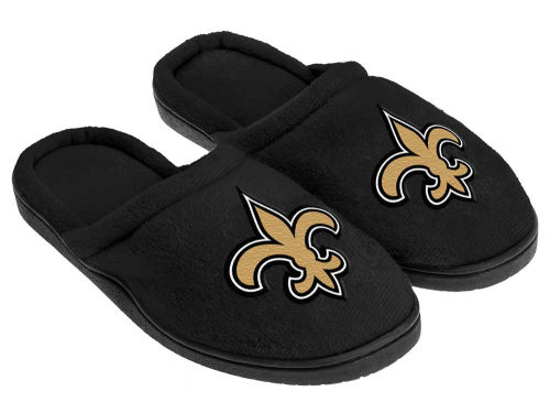New Orleans Saints Cupped Sole Slippers