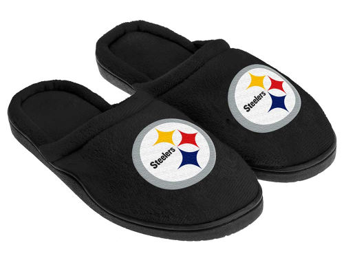 Pittsburgh Steelers Cupped Sole Slippers