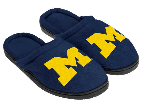 Michigan Wolverines Cupped Sole Slippers