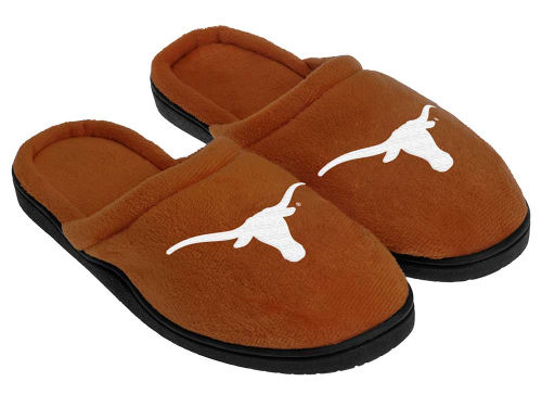 Texas Longhorns Forever Collectibles Cupped Sole Slippers