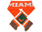 Miami Hurricanes Forever Collectibles Acrylic Team Stripe Scarf Belts, Gloves & Accessories