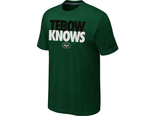 New York Jets Tebow Nike NFL Player Knows T-Shirt