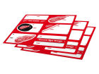 Detroit Red Wings Gift Tags-NHL Holiday