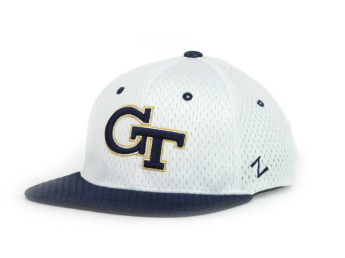 Georgia Tech Yellow Jackets Zephyr NCAA 619 Jersey Mesh Cap Hats