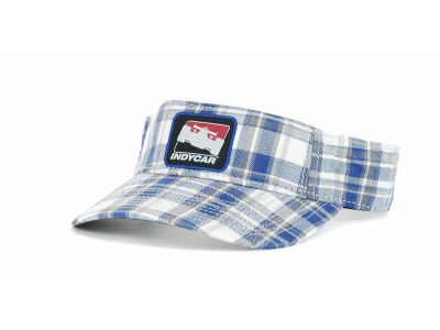 IndyCar Series Racing Plaid Visor Hats