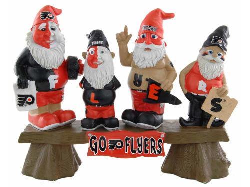 Philadelphia Flyers Fan Gnome Bench-NHL