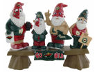 Minnesota Wild Fan Gnome Bench-NHL Lawn & Garden