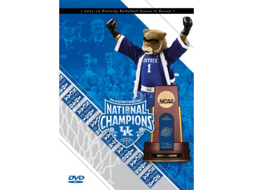 Kentucky Wildcats 2012 NCAA National Champ DVD
