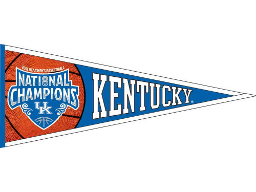 Kentucky Wildcats 2012 National Championship Pennant
