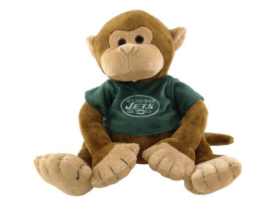 Plush Seated Monkey