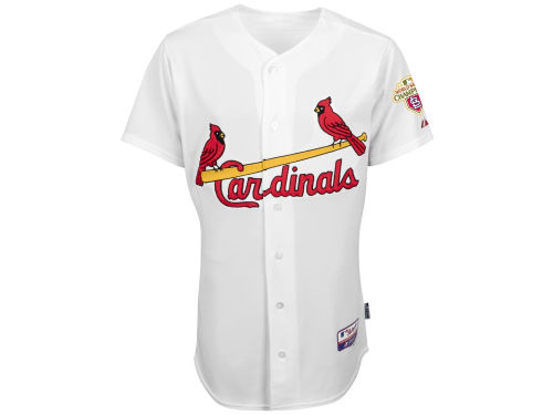 St. Louis Cardinals Majestic MLB Men's CB Authentic On-Field Jersey