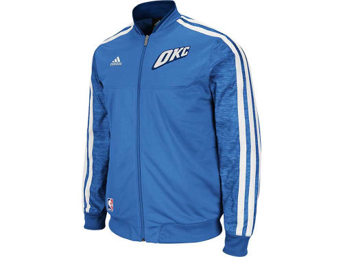 Oklahoma City Thunder adidas NBA Weekday On-Court Jacket