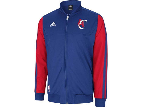 Los Angeles Clippers adidas NBA Weekend On-Court Jacket