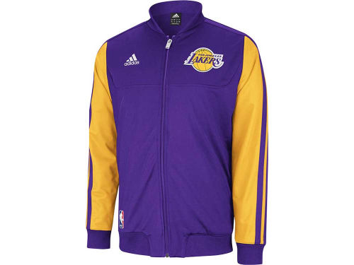 Los Angeles Lakers adidas NBA Weekend On-Court Jacket