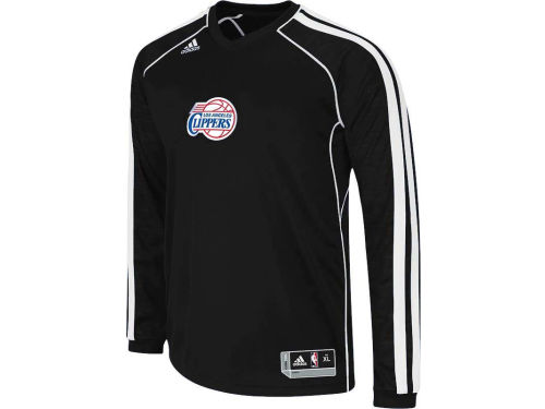 Los Angeles Clippers adidas NBA Road On-Court Long Sleeve Shooter
