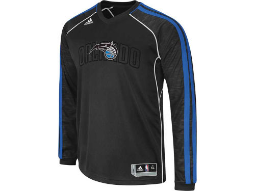 Orlando Magic adidas NBA Road On-Court Long Sleeve Shooter