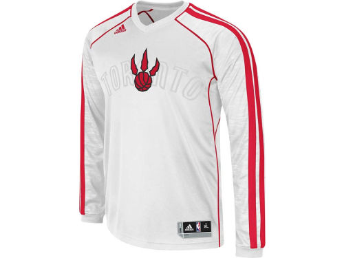 Toronto Raptors adidas NBA Road On-Court Long Sleeve Shooter