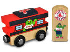 Boston Red Sox Wooden Caboose Toys & Games