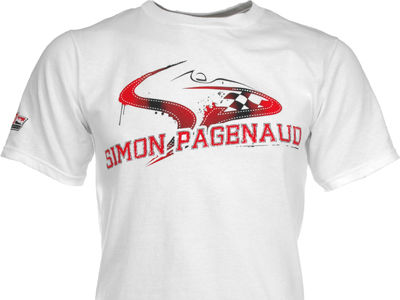 Simon Pagenaud Racing Mens Driver Logo T-Shirt