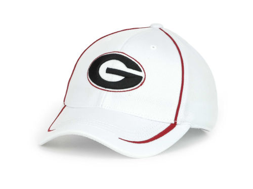 Georgia Bulldogs Top of the World NCAA Lunatech White Cap Hats