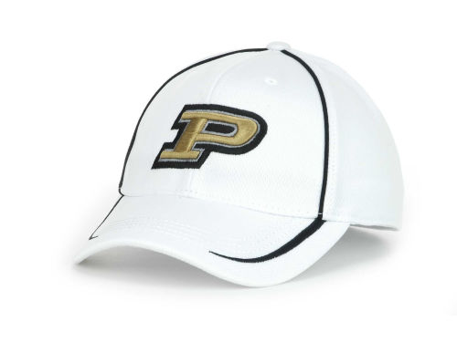 Purdue Boilermakers Top of the World NCAA Lunatech White Cap Hats