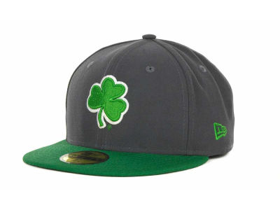Notre Dame Fighting Irish NCAA 2 Tone Graphite and Team Color 59FIFTY Hats