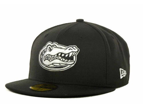 Florida Gators New Era NCAA 2 Tone Graphite and Team Color 59FIFTY Hats