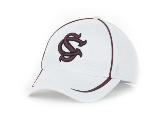 South Carolina Gamecocks Top of the World NCAA Lunatech White Cap Hats
