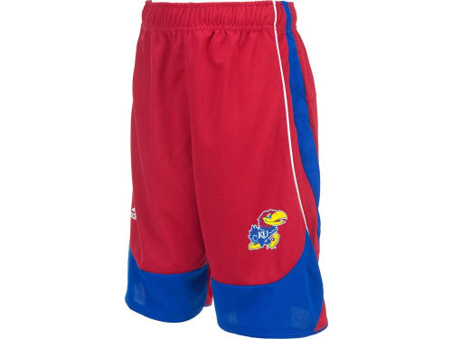 Kansas Jayhawks adidas NCAA Youth Replica Basketball Short
