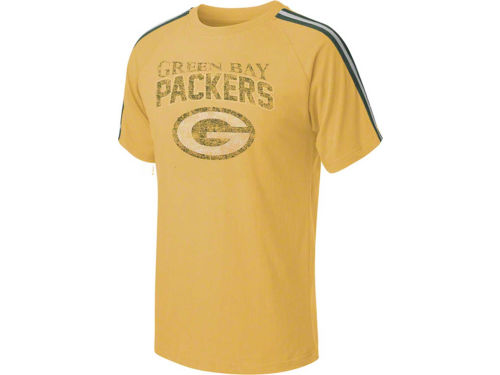 Green Bay Packers Outerstuff NFL Youth Vintage Raglan T-Shirt