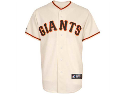 San Francisco Giants Majestic MLB Youth Blank Replica Jersey