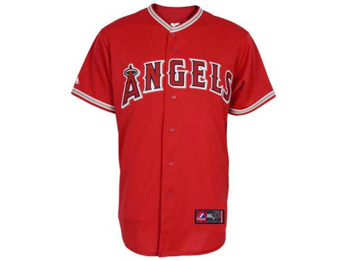Los Angeles Angels of Anaheim Majestic MLB Youth Blank Replica Jersey