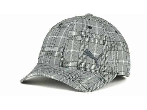Puma Tailored Plaid Flex Cap Hats