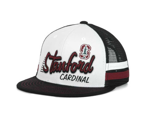 Stanford Cardinal Top of the World NCAA Supra Stripe MB Snapback Cap Hats