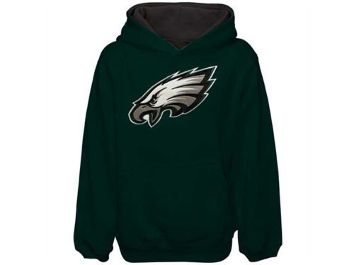 Philadelphia Eagles Outerstuff NFL Youth Sportsman Pullover Hoodie