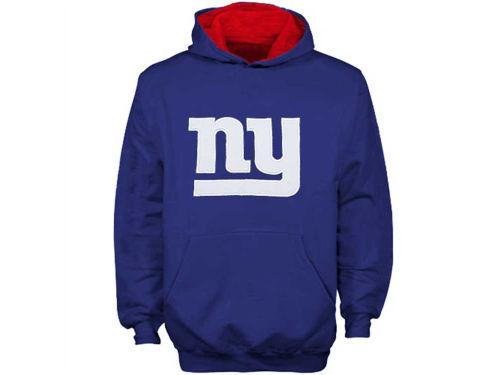 New York Giants Outerstuff NFL Youth Sportsman Pullover Hoodie
