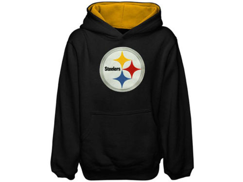 Pittsburgh Steelers Outerstuff NFL Youth Sportsman Hoodie