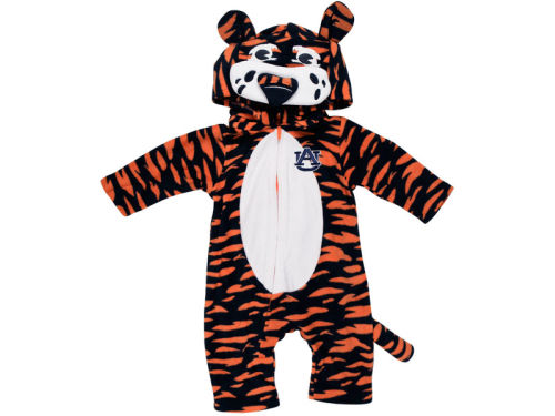 Auburn Tigers NCAA Newborn Mascot Fleece Outfit