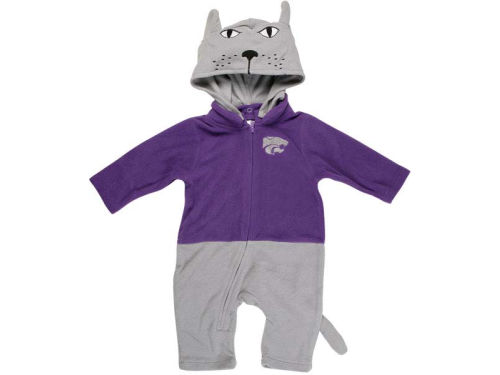 Kansas State Wildcats NCAA Newborn Mascot Fleece Outfit
