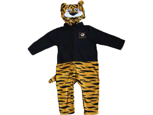 Missouri Tigers NCAA Newborn Mascot Fleece Outfit