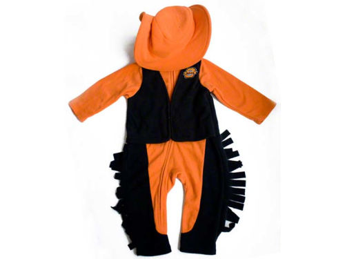 Oklahoma State Cowboys NCAA Newborn Mascot Fleece Outfit