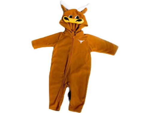 Texas Longhorns NCAA Newborn Mascot Fleece Outfit