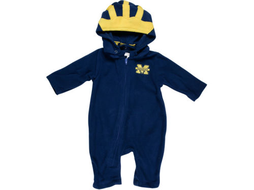 Michigan Wolverines NCAA Infant Mascot Fleece Outfit