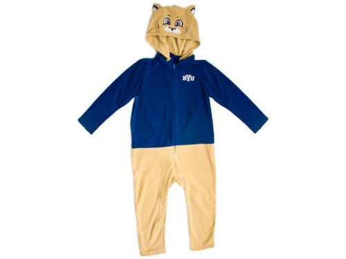 Brigham Young Cougars NCAA Toddler Mascot Fleece Outfit