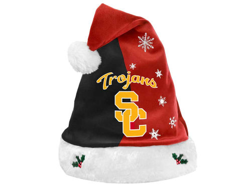 USC Trojans Forever Collectibles Team Logo Santa Hat