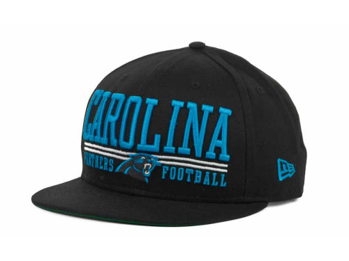 Carolina Panthers New Era NFL Lateral 9FIFTY Snapback Hats
