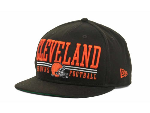 Cleveland Browns New Era NFL Lateral 9FIFTY Snapback Hats