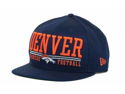 Denver Broncos NFL Lateral 9FIFTY Snapback Hats